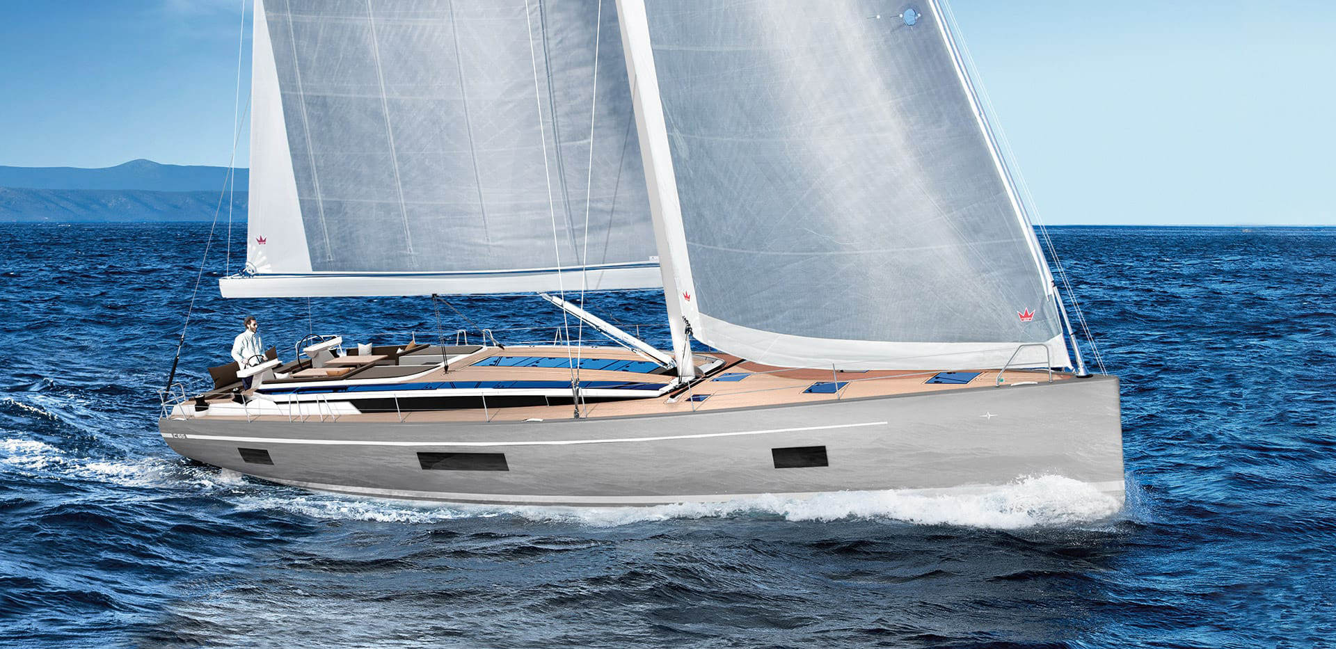 BAVARIA C65 - The largest yacht ever built by the shipyard